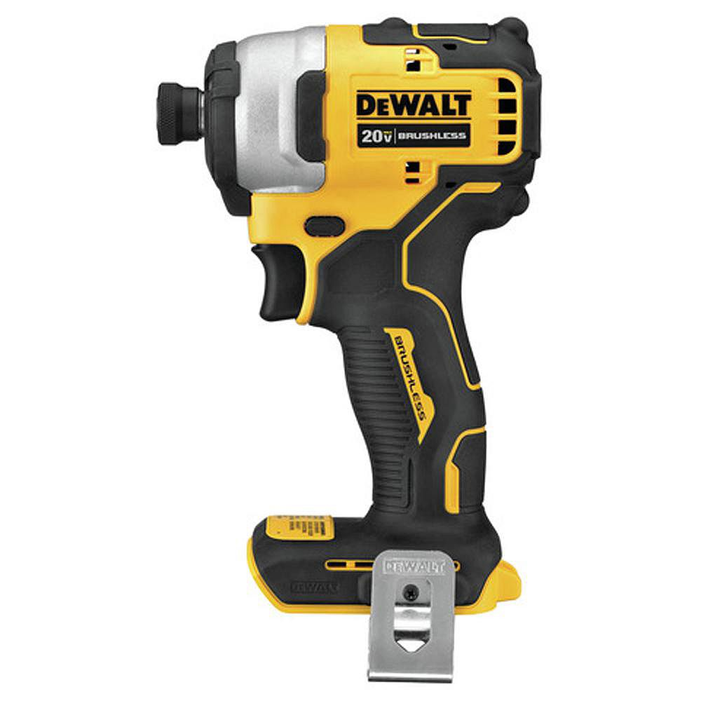 DEWALT ATOMIC 20V MAX Brushless Cordless Compact Impact Driver (Tool-Only)