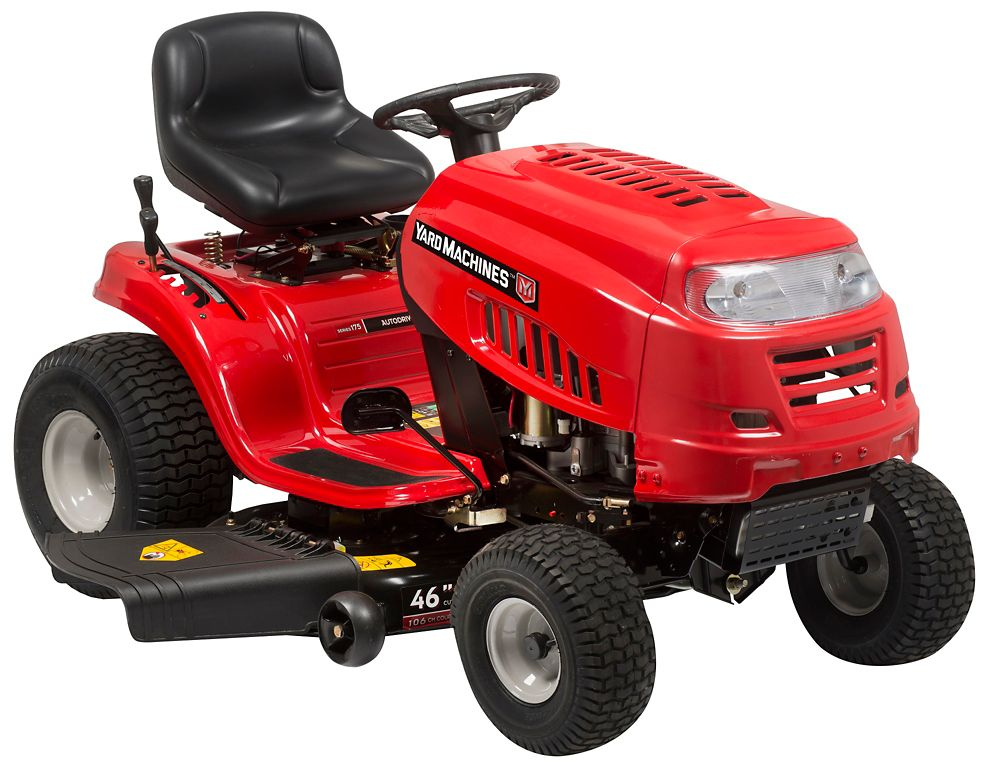 Riding Lawn Mowers - Lawn Tractors | The Home Depot Canada