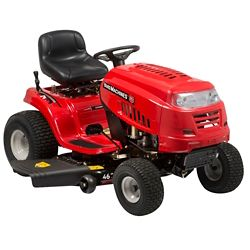 Yard Machines Tracteur de pelouse de 46 po avec éjection latérale et moteur de 547 cc