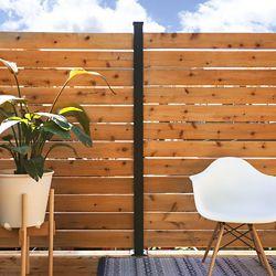 HOFT Solutions KIT C - 1 poteau de ligne et pièces pour clôtures et écrans intimité