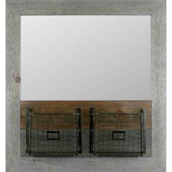 Art Maison Canada 28.5x30.5 panier plaine de miroir miroir de
