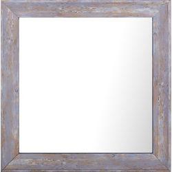 Art Maison Canada 10.25x10.25 Set of 4, Pastel Wood Wash Plain Mirror