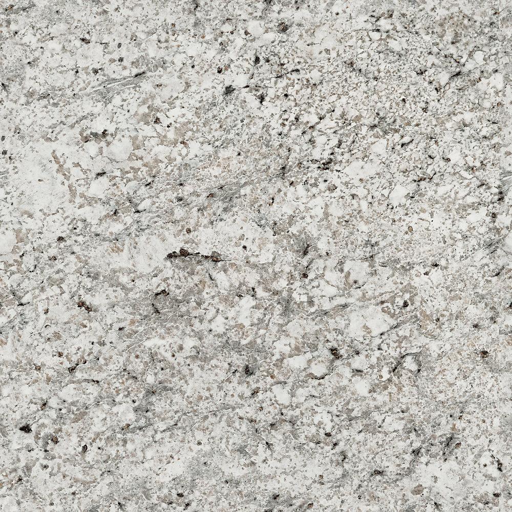 Argento Romano 96 po x 48 po Feuille de stratifié en fini mat