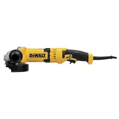 DEWALT 4-1/2-inch/5-inch/6-inch Rat Tail Trigger Grinder (13Amp, 9,000rpm, AC/DC)