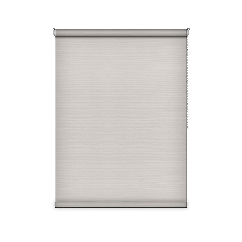 Blackout Roller Shade - Chain Operated Open Roll - 79.5-inch X 60-inch
