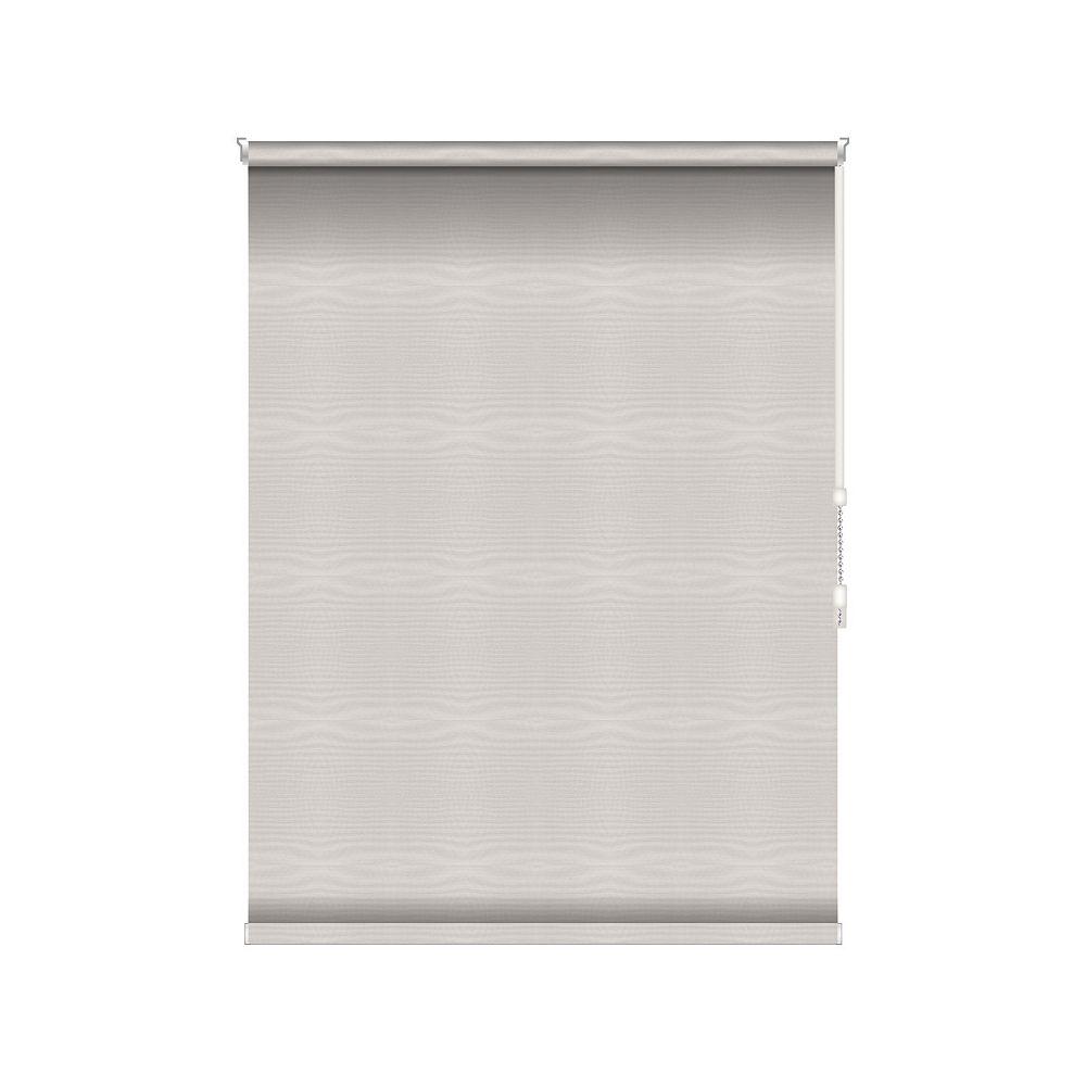 Sun Glow Tissue Opaque Toiles à Rouleau - Rouleau Ouvert à Chaîne - 48-po X 84-po en Glace