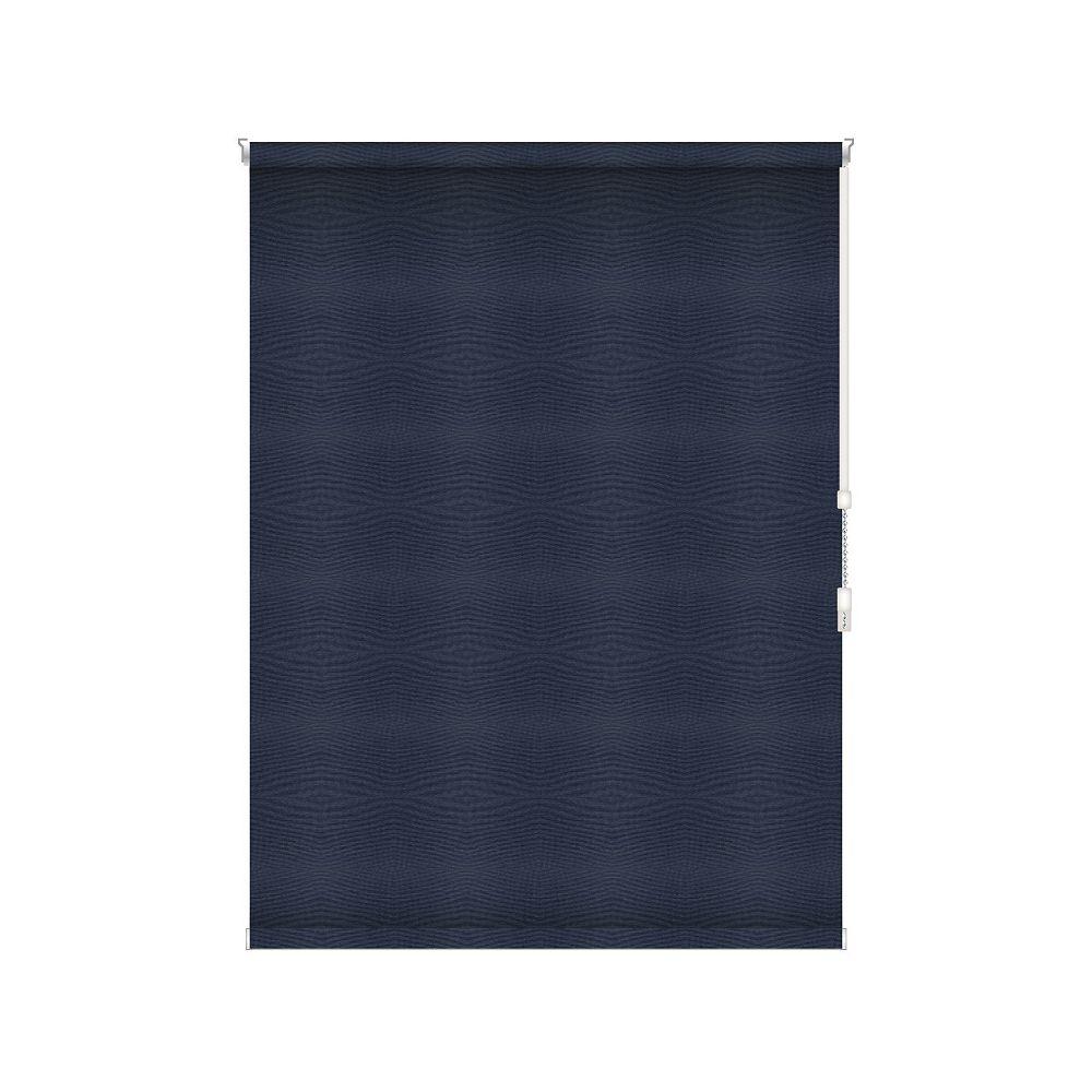Sun Glow Tissue Opaque Toiles à Rouleau - Rouleau Ouvert à Chaîne - 44.25-po X 84-po en Marine