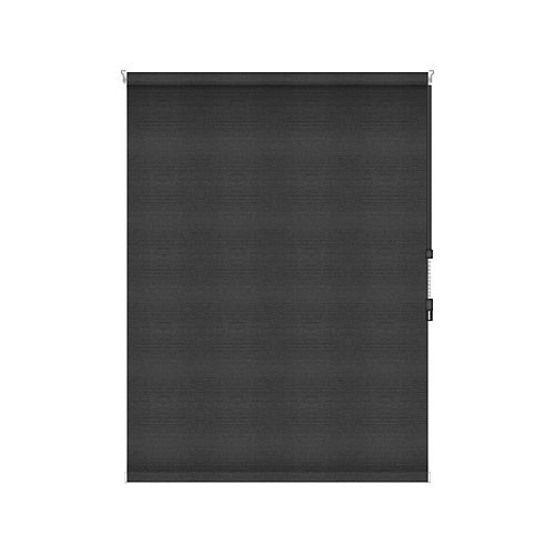 Sun Glow Blackout Roller Shade - Chain Operated Open Roll - 34.25-inch X 84-inch in Denim