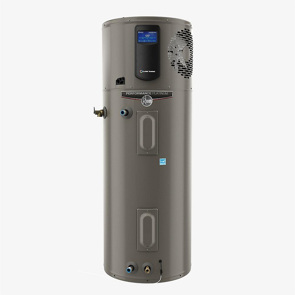 Chauffe-eau hybride/électrique intelligent à haute efficacité, 65 USG, garantie 10 ans