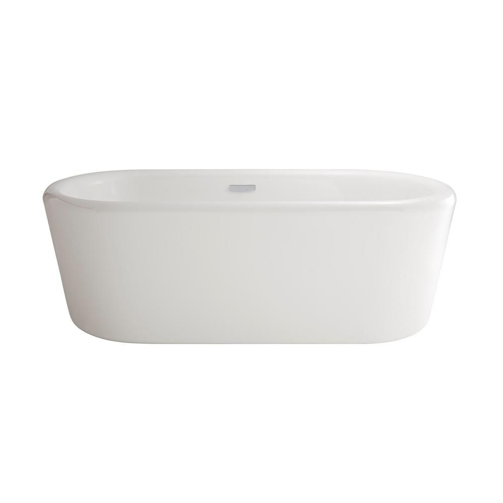 American Standard Kipling - Ovale Freestanding Soaking Tub White