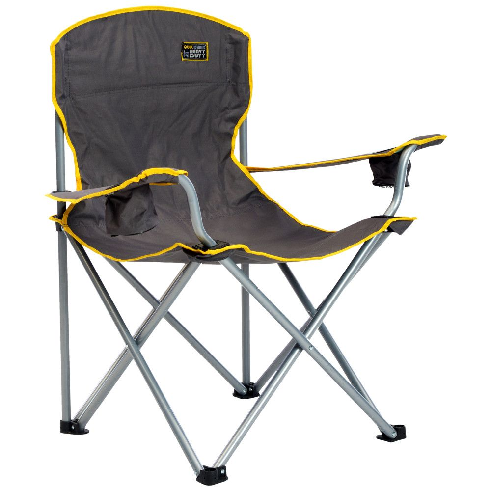 Quik Shade Heavy Duty Folding Chair - Gray