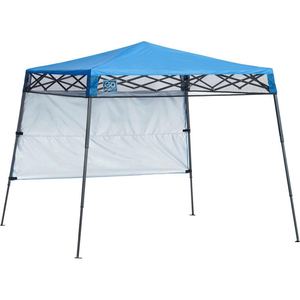 Quik Shade Go Hybrid 7 x 7 ft. Slant Leg Canopy, Regatta Blue