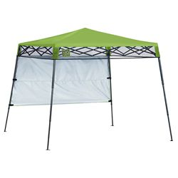 Quik Shade Go Hybrid 7 x 7 ft. Slant Leg Canopy, Bright Green
