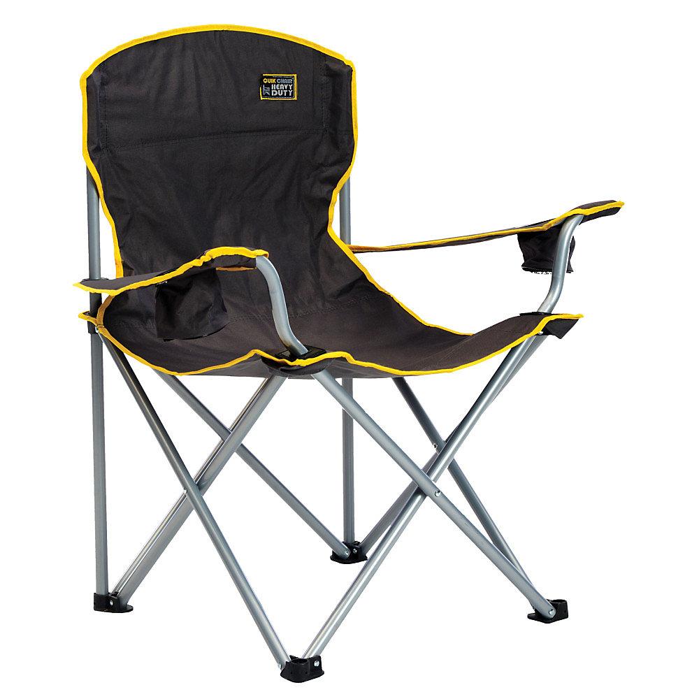 Ultra résistant chaise pliante  - Noir