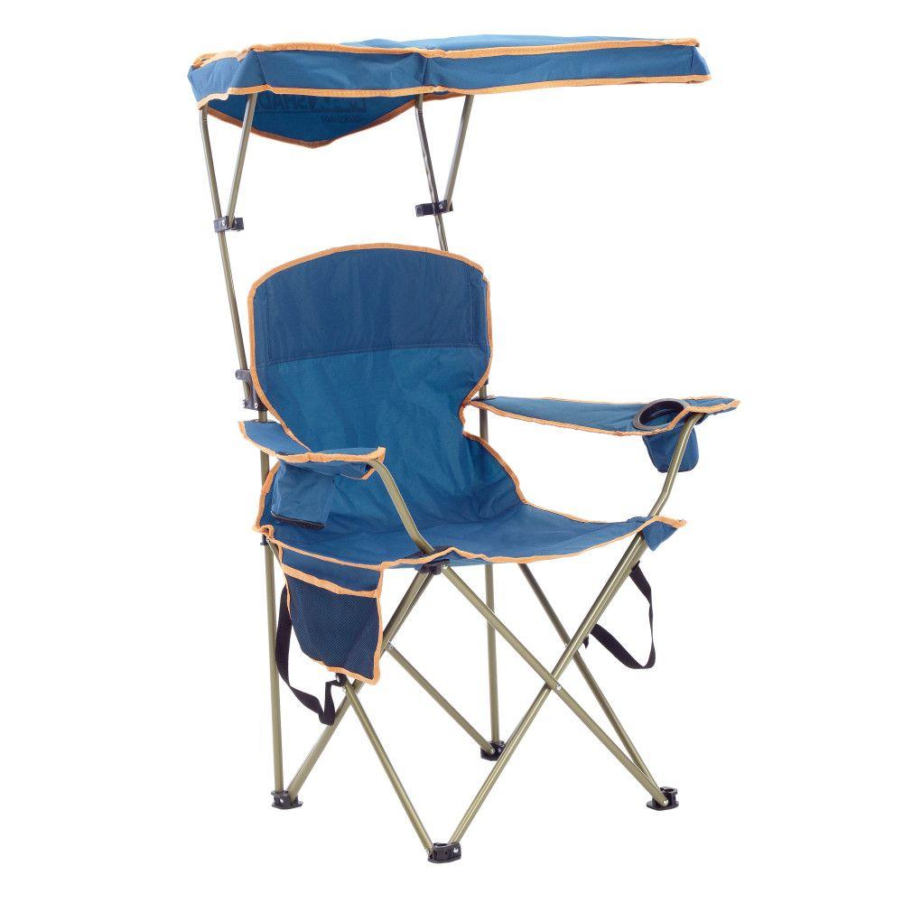 Quik Shade Max Shade Folding Chair - Navy