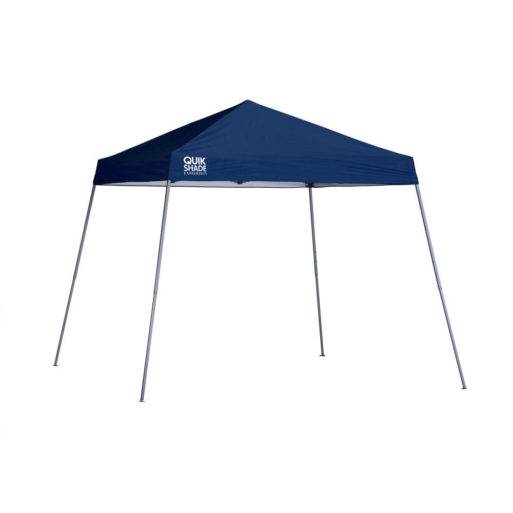 Quik Shade Expedition EX64 10 x 10 ft. Slant Leg Canopy - Twilight Blue
