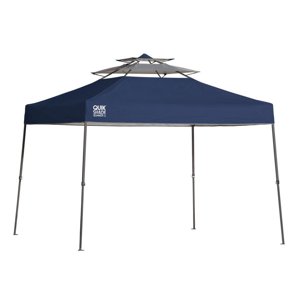 Quik Shade Summit SX100 10 X 10 ft. Straight Leg Canopy - Blue