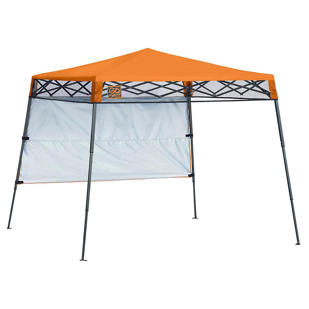 Go Hybrid 7 x 7 ft. Slant Leg Canopy, Russet Orange
