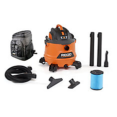NXT 60 L (16 Gal.) 6.0 Peak HP Wet Dry Vacuum with Bonus Backpack Cooler