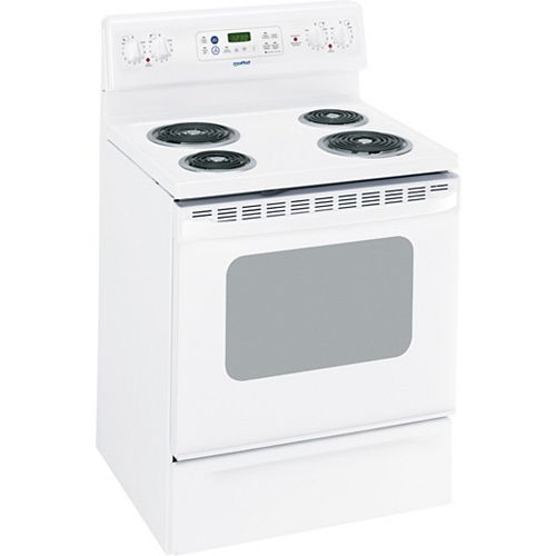 Moffat 5 Cu. Ft. Free-standing Electric Range in White