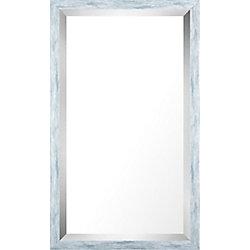 Art Maison Canada 17.75x29.75 lavage bleu Pastel Miroir biseauté miroir de
