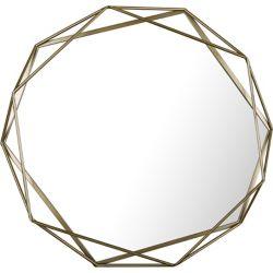 Art Maison Canada Diamètre 31,5 forme plaine de miroir métal miroir