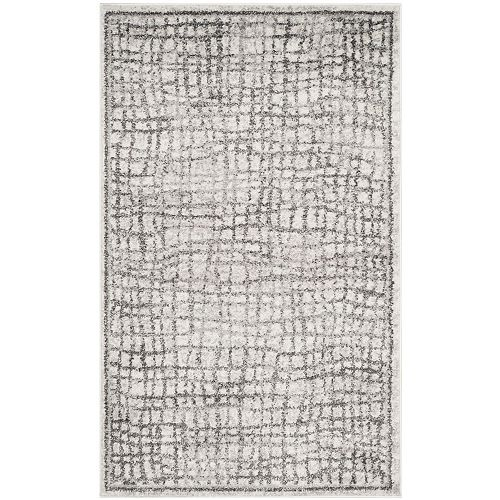 Safavieh Adirondack Taylor Silver / Ivory 2 ft. 6-inch x 4 ft. Indoor Area Rug