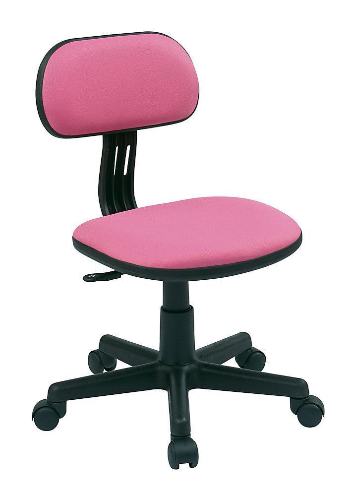 Chaise rose pour étudiant de