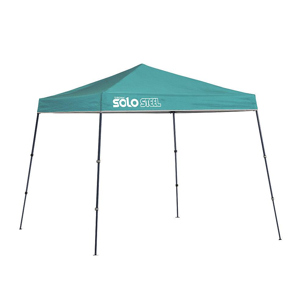 Solo Steel 50 9 x 9 pi Abri à Pattes Inclinées  - Turquoise