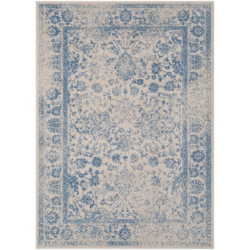 Safavieh Adirondack Mackenzie Ivory / Light Blue 4 ft. x 6 ft. Indoor Area Rug
