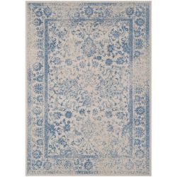 Safavieh Adirondack Mackenzie Ivory / Light Blue 5 ft. 1-inch x 7 ft. 6-inch Indoor Area Rug