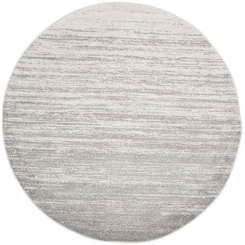 Safavieh Adirondack Brian Ivory / Silver 7 ft. x 7 ft. Round Indoor Area Rug
