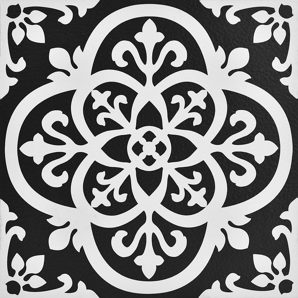 12-inch x 12-inch Gothic Peel & Stick Vinyl Tile Flooring (20 sq. ft. / pack)