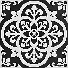 12-inch x 12-inch Gothic Peel & Stick Vinyl Tile Flooring (20 sq. ft. / pack)