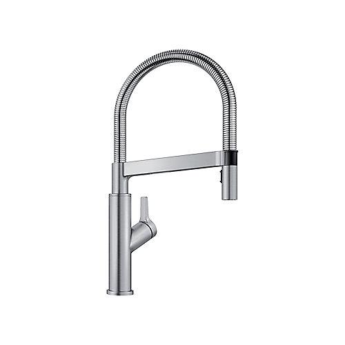 SOLENTA SENSO Hands-Free Sensor Faucet, Stainless Finish
