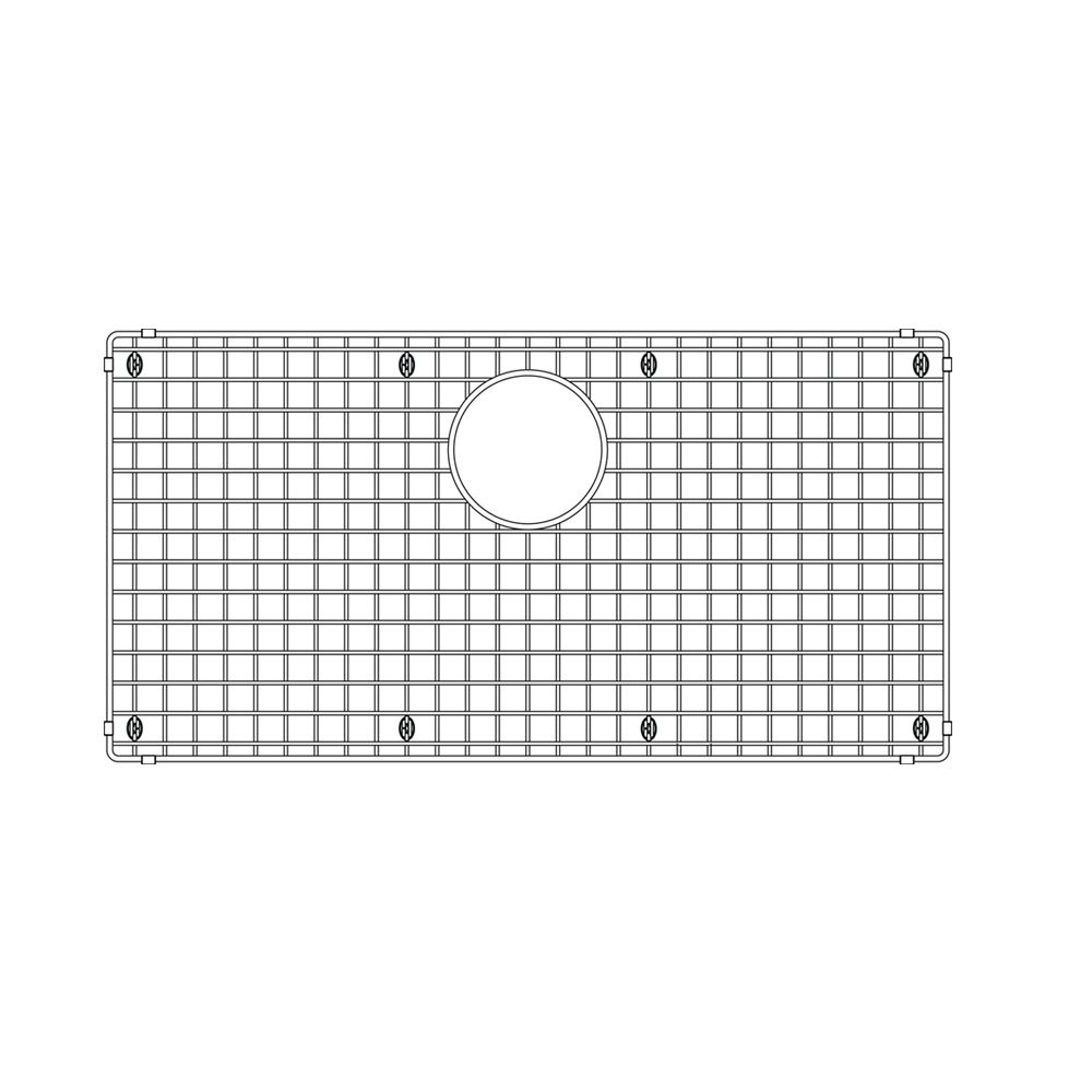 Blanco 14.5 inch x 28.5 inch Sink Grid, Stainless Steel