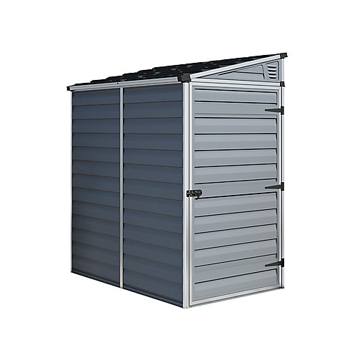 Pent Shed 4 ft. x 6 ft. - Grey