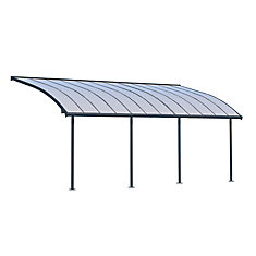 Joya Patio Cover System 10 ft. x 24 ft. - Grey