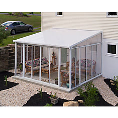 San Remo 13 ft. x 14 ft. Patio Enclosure