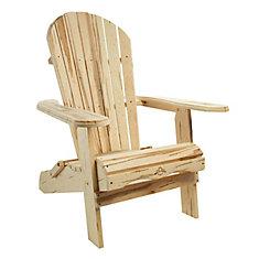 Wormy Maple Adirondack Chair