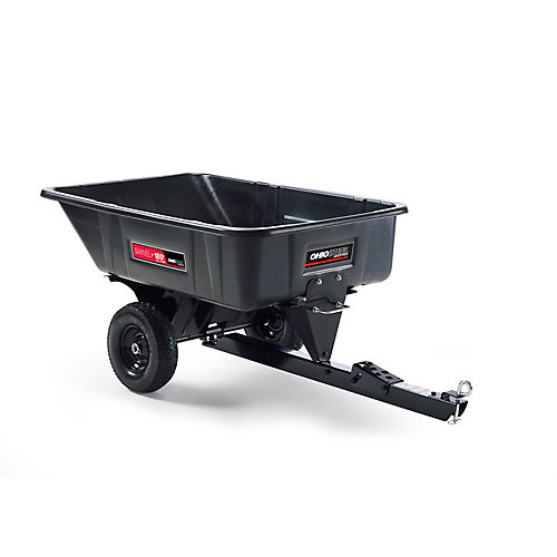 10 Cu ft. Poly Swivel Dump Cart