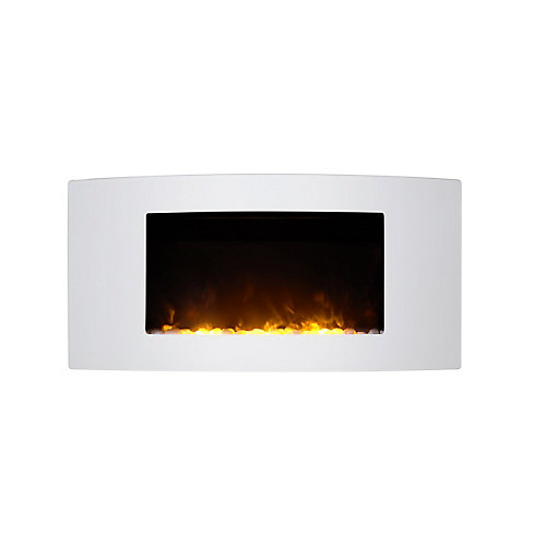 Monaco Curved Wall Mount Fireplace