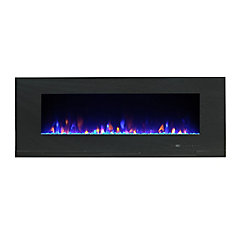 Mirage 60 inch Wall Mount with Multicolor Flames