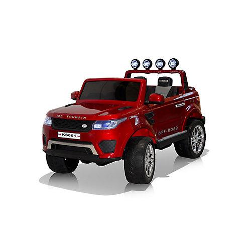 Camion Hercules porteur de 24V - Rouge