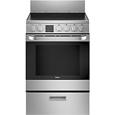 2.9 Cu. Ft. Free-standing Convection Range- Stainless Steel