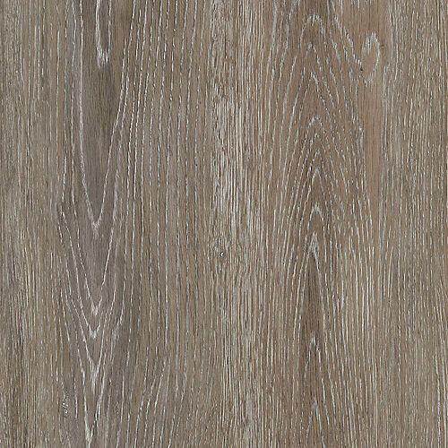 Sample - Brushed Oak Taupe Luxury Vinyl Flooring, 5-inch x 6-inch