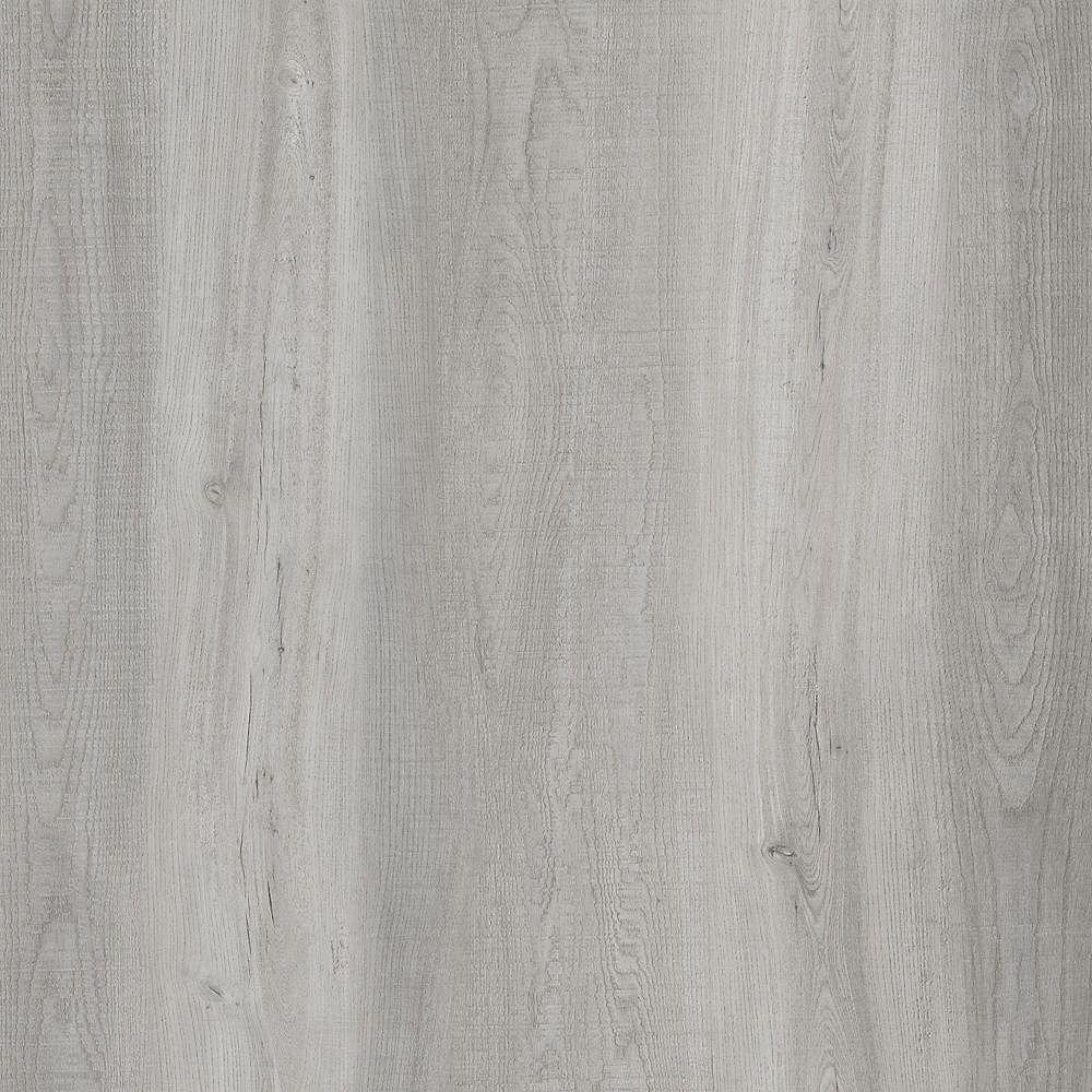 Lifeproof Sample - Light Grey Oak Luxury Vinyl Flooring, 5-inch x 6-inch