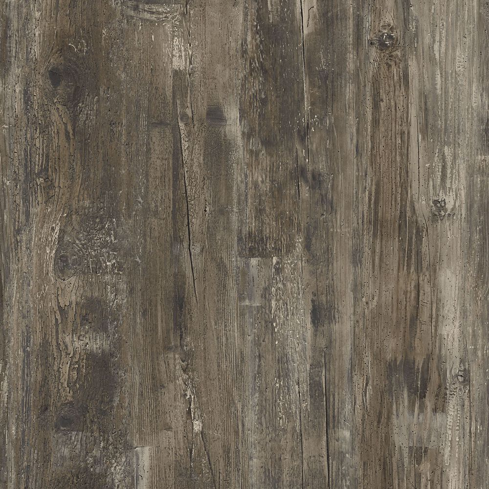 Sample - Thunder Wood Luxury Vinyl Flooring, 5-inch x 6-inch