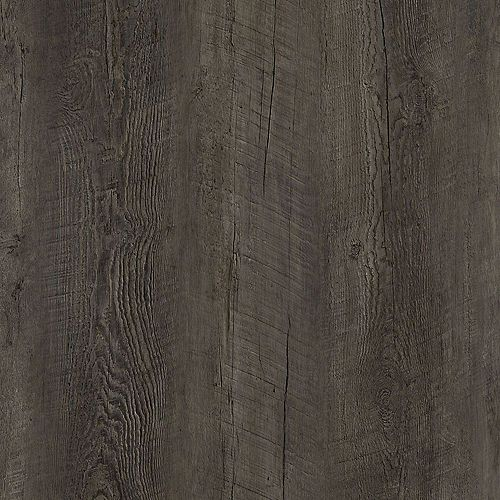 Lifeproof Sample - Dark Oak Luxury Vinyl Flooring, 5-inch x 6-inch