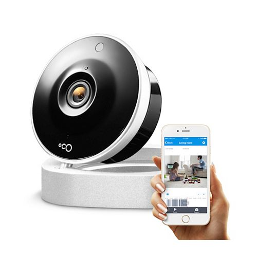 Oco 720p HD Indoor Security Camera Video Monitoring with Cloud Storage and Remote View